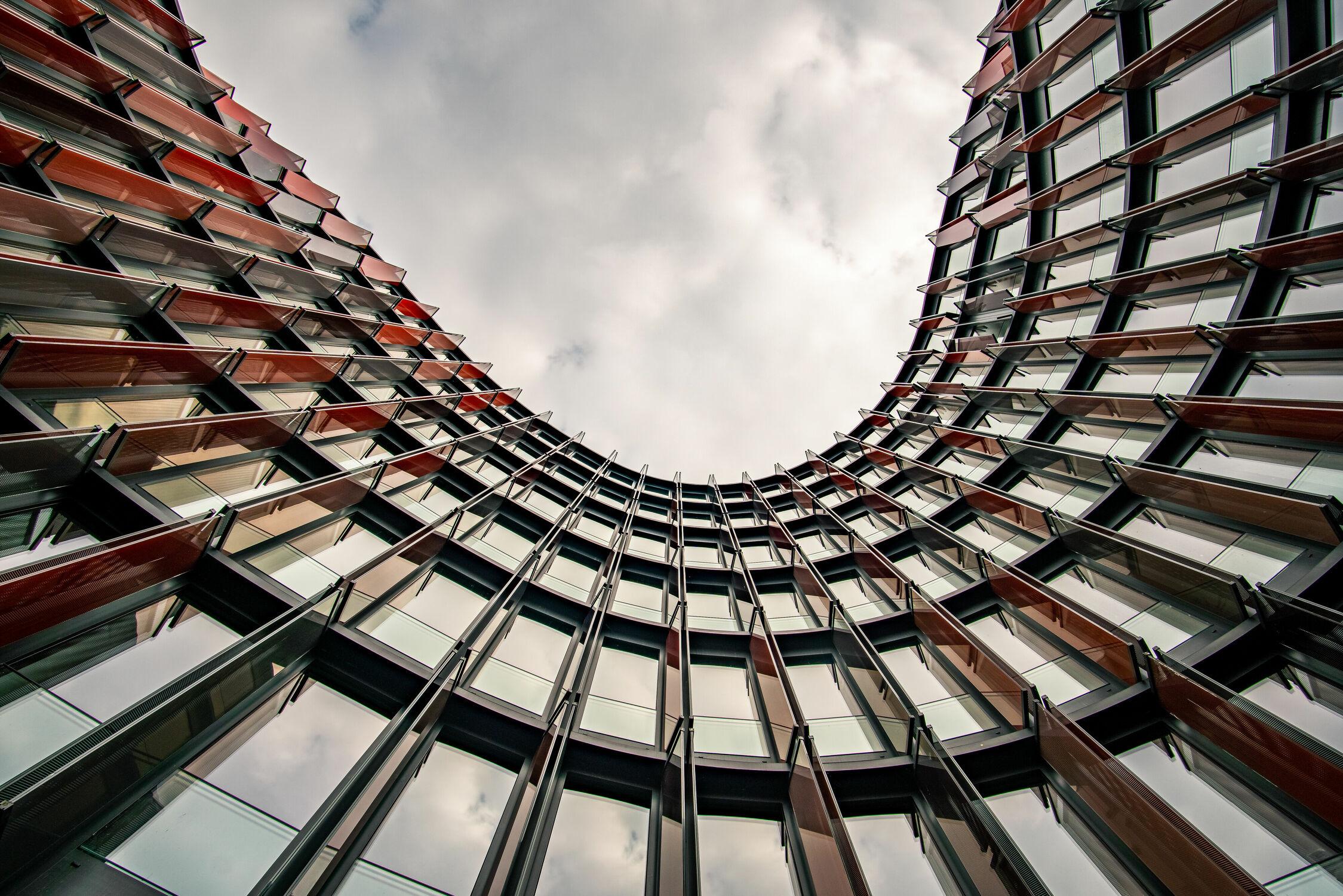 Bild mit Himmel, Architektur, Gebäude, Fenster, Stadt, Köln