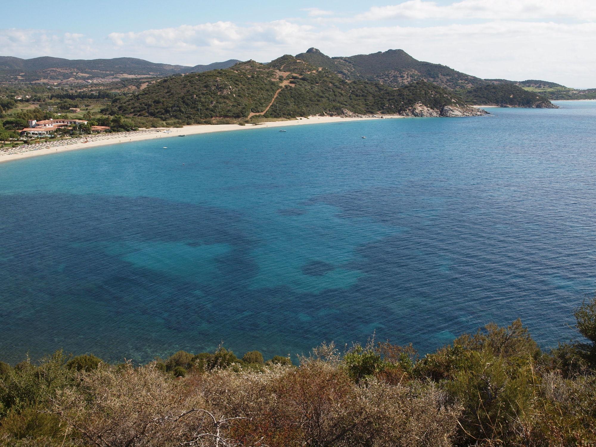 Bild mit Natur, Gewässer, Strände, Urlaub, Strand, Sandstrand, Meer, Sardinien