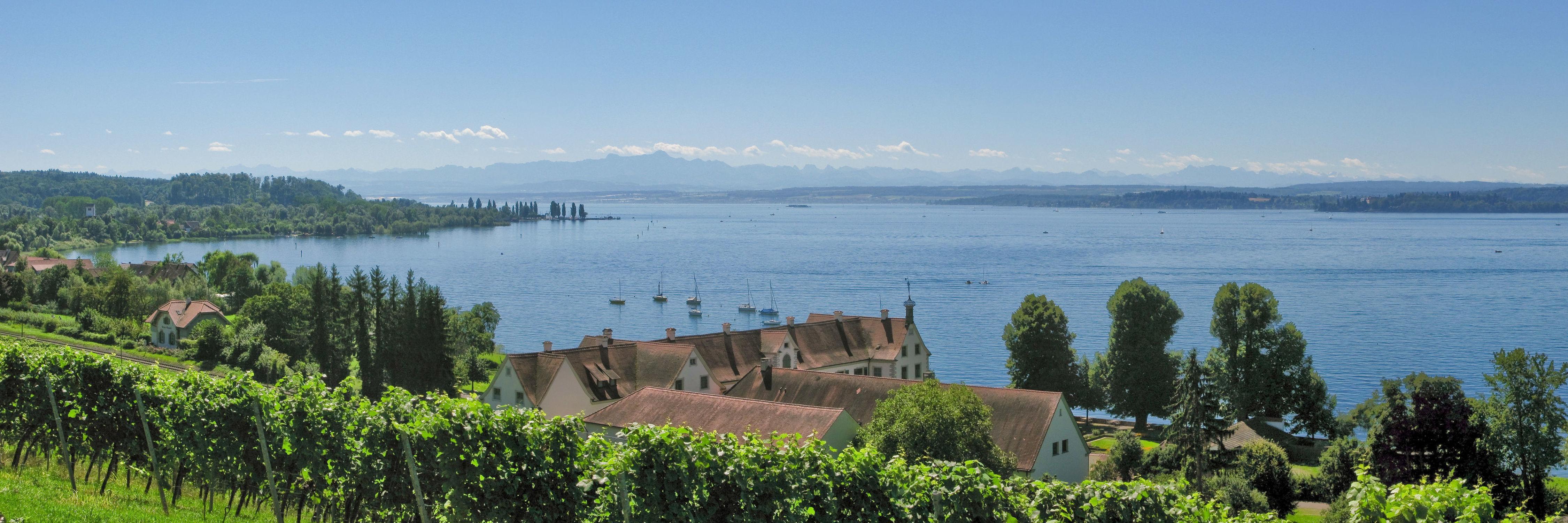 Bild mit Bodensee