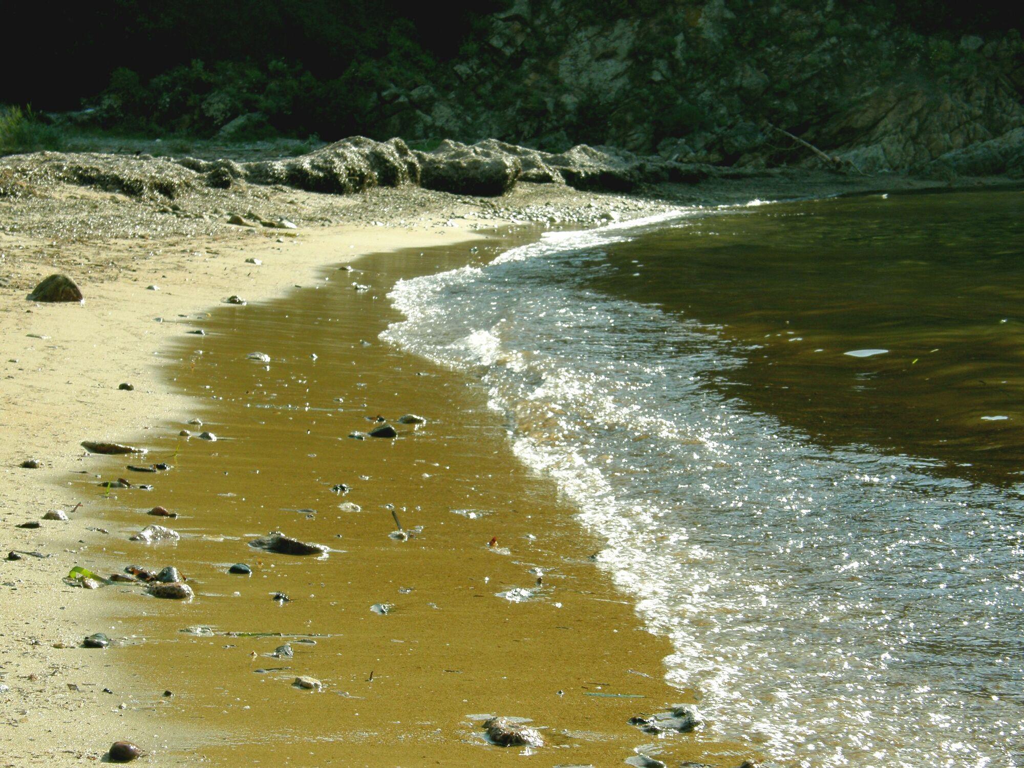 Bild mit Wasser, Gewässer, Strände, Stein, Strand, Meer, Steine