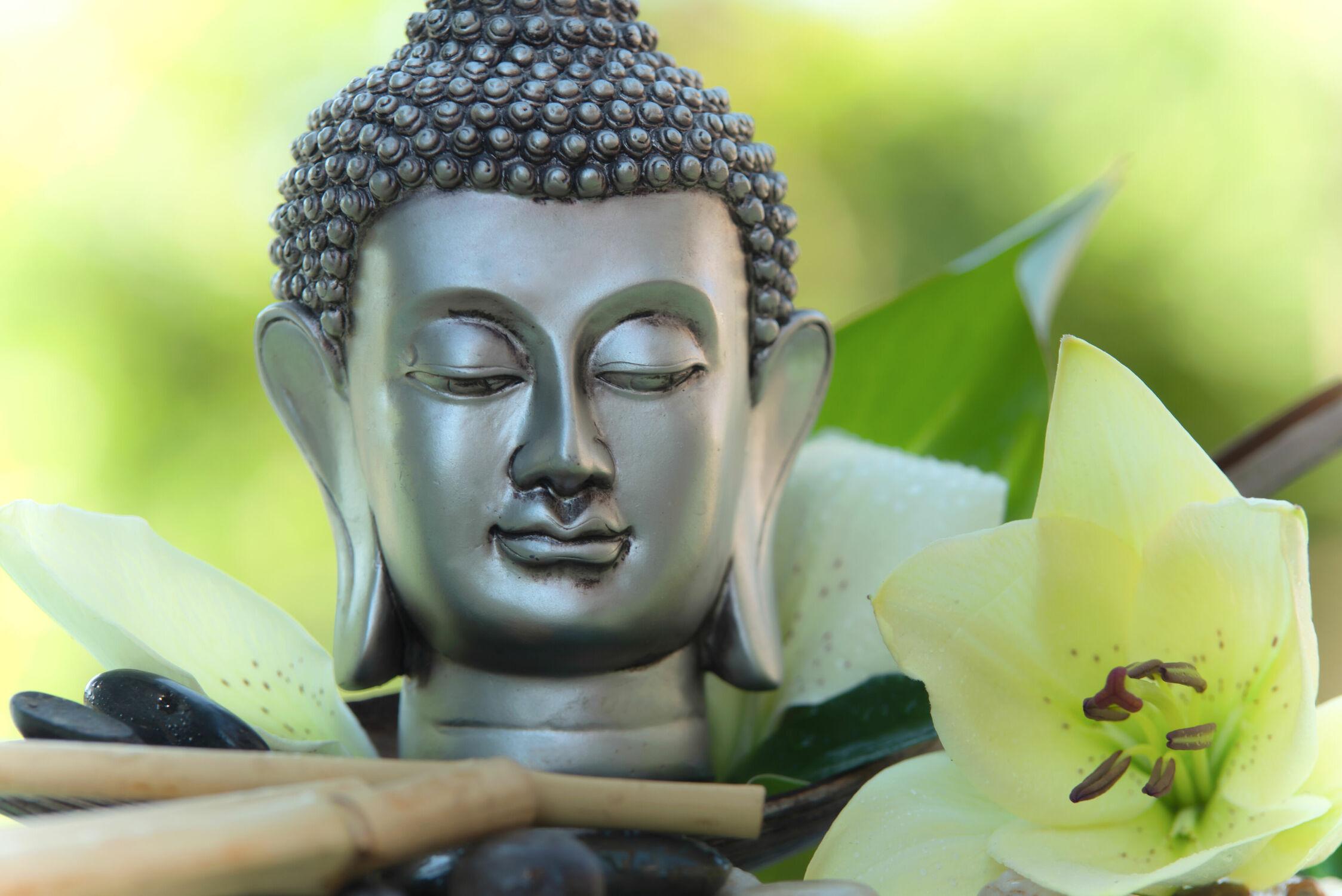 Bild mit Bambus, Bambus, bamboo, Ruhe, Stillleben, Stillleben &Objekte, Stille, Dekoration, Glauben, wellnessdekoration