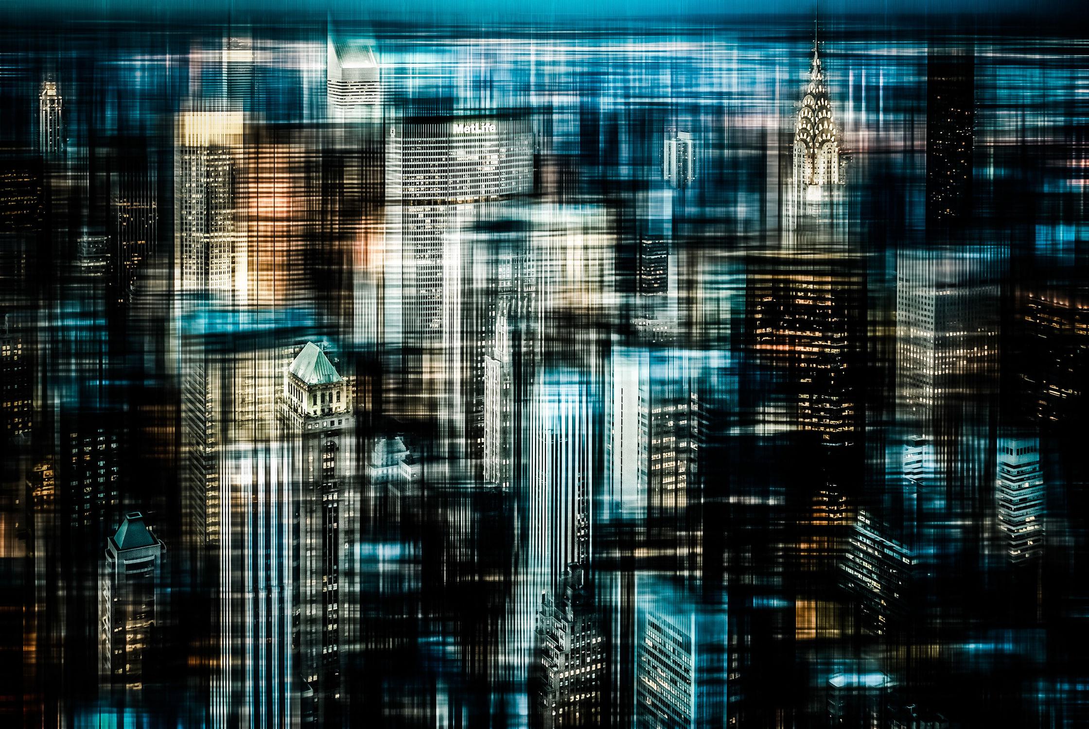 Bild mit Kunst, Architektur, Abstrakt, art, New York, USA, NYC, Manhatten, empire state building