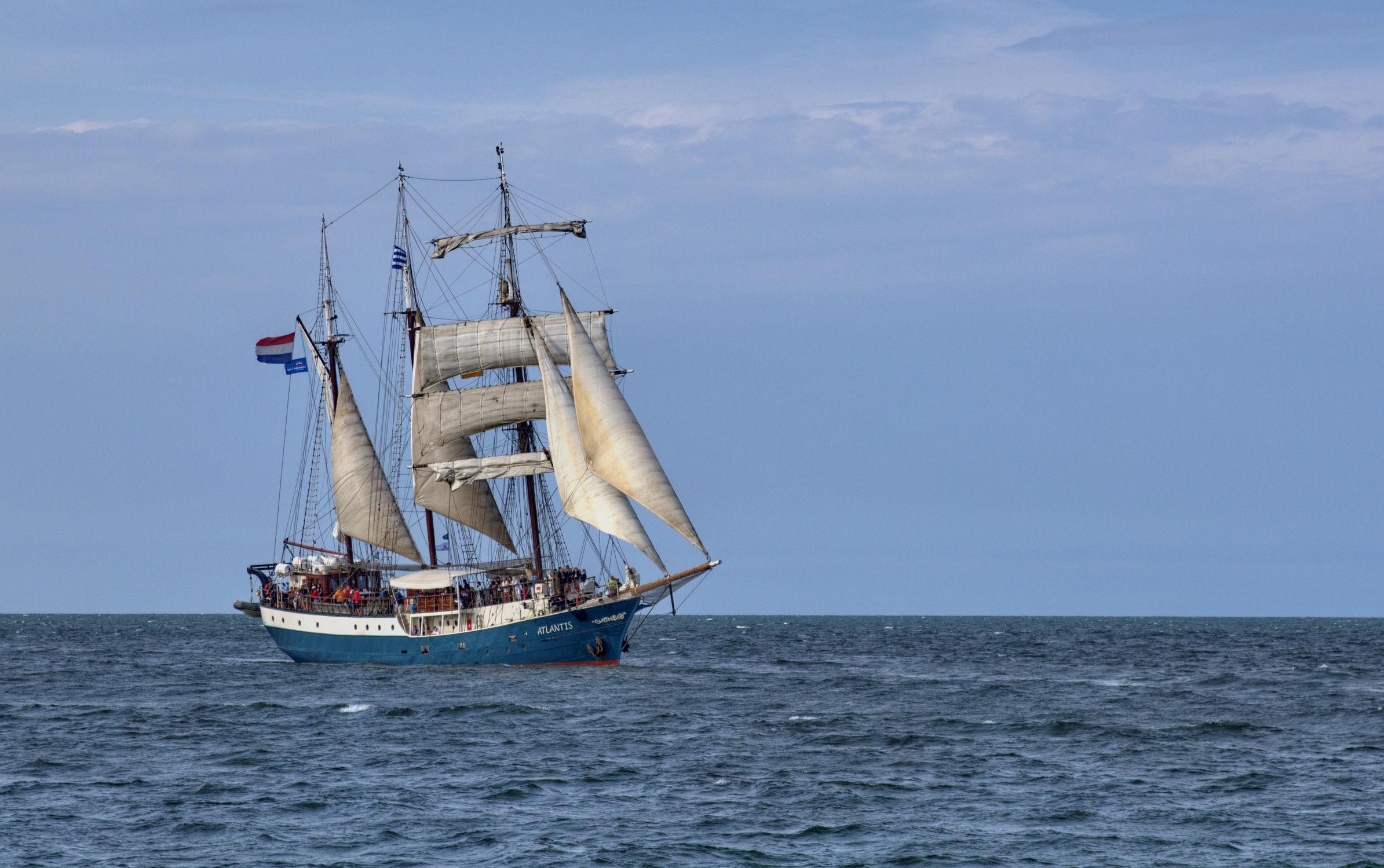 Bild mit Gewässer, Schiffe, Meerblick, Ostsee, Schiff, Meer, Boote, See, maritimes, Piraten, Piratenschiff