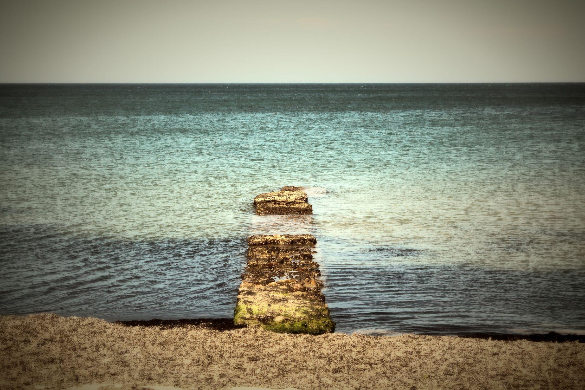 Bild mit Wasser, Meer, Steg, Bootssteg, Strandurlaub