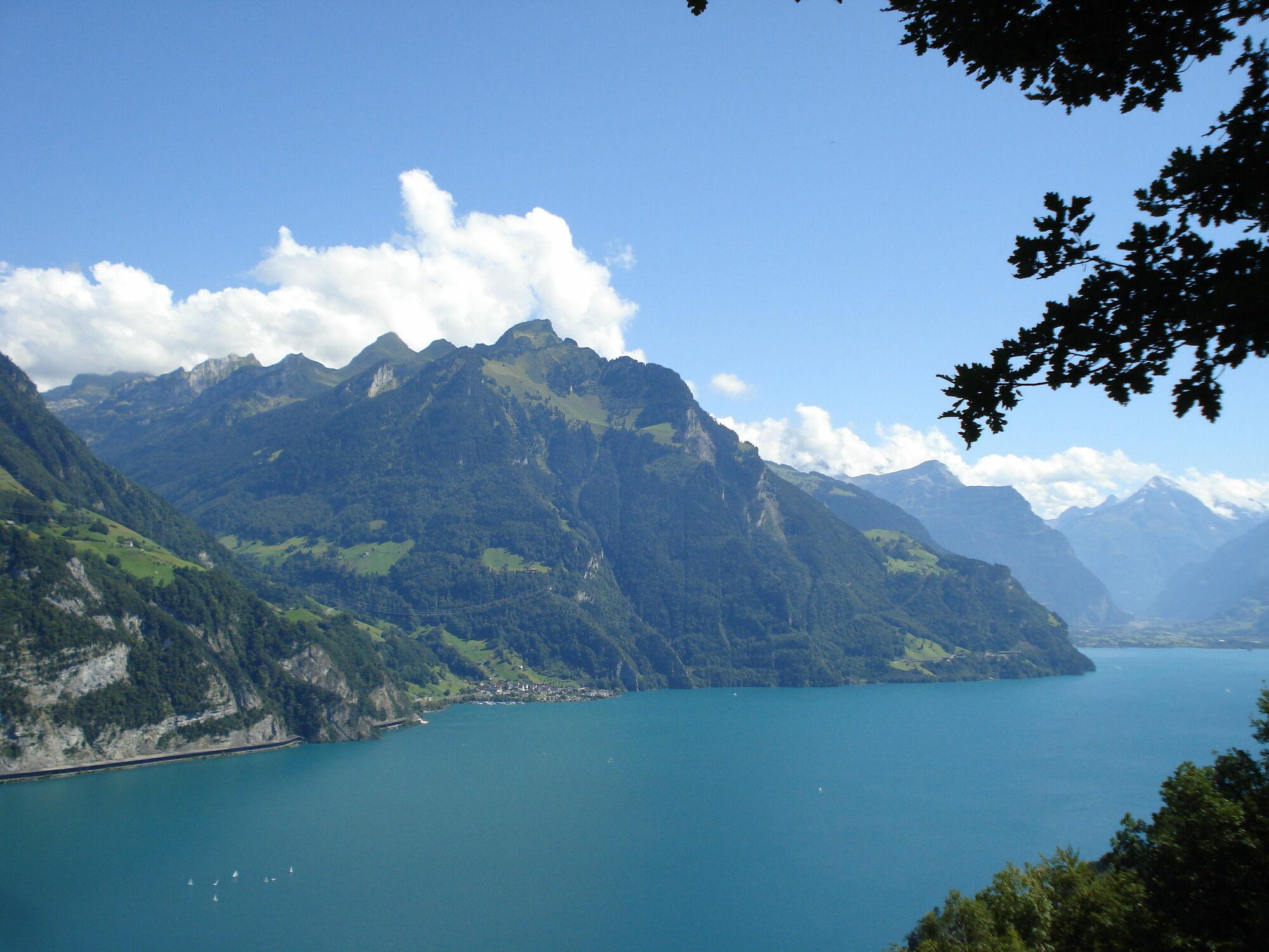 Bild mit Natur, Berge und Hügel, Berge, Himmel, Panorama, Landschaft, Schweiz