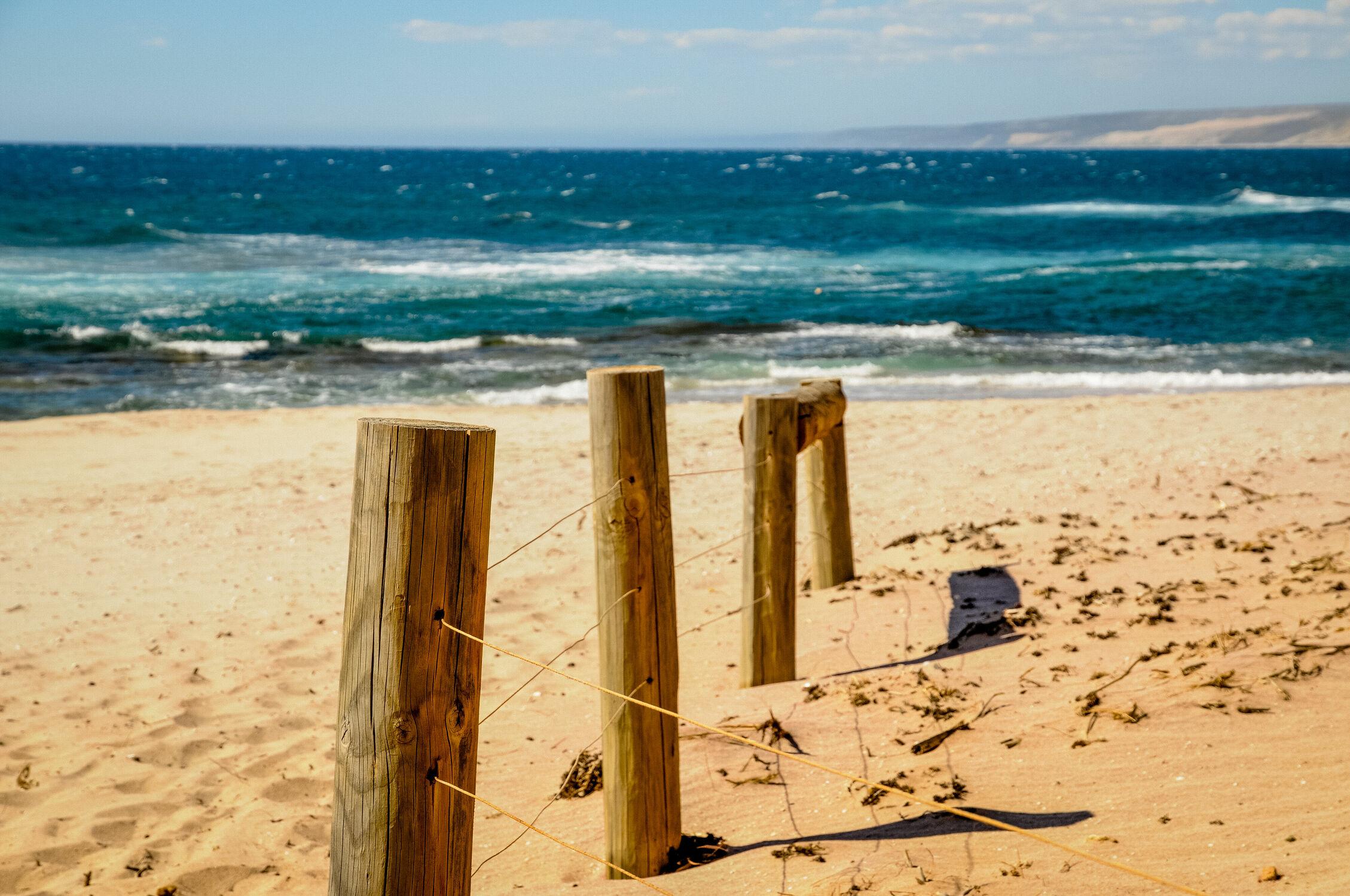 Bild mit Strand, Meer, weite