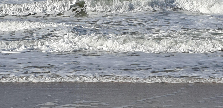 Bild mit Wasser, Wellen, Wellen, Strand, Meer, Nordsee, Norddeutschland, Strandwellen