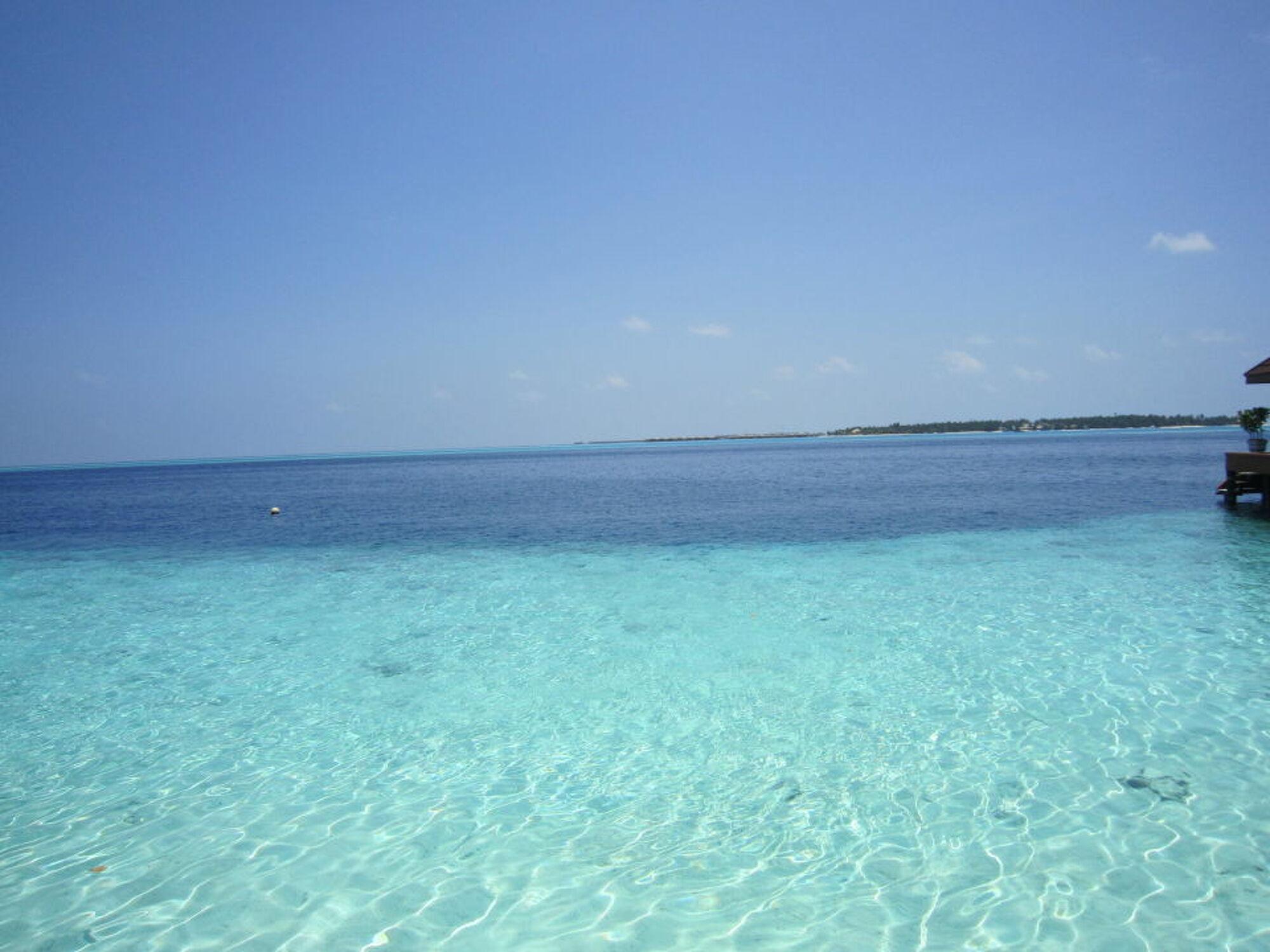 Bild mit Wasser, Blau, Meerblick, Meer, Malediven