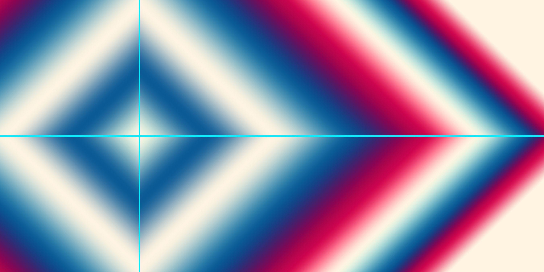 Bild mit Farben, Blau, Azurblau