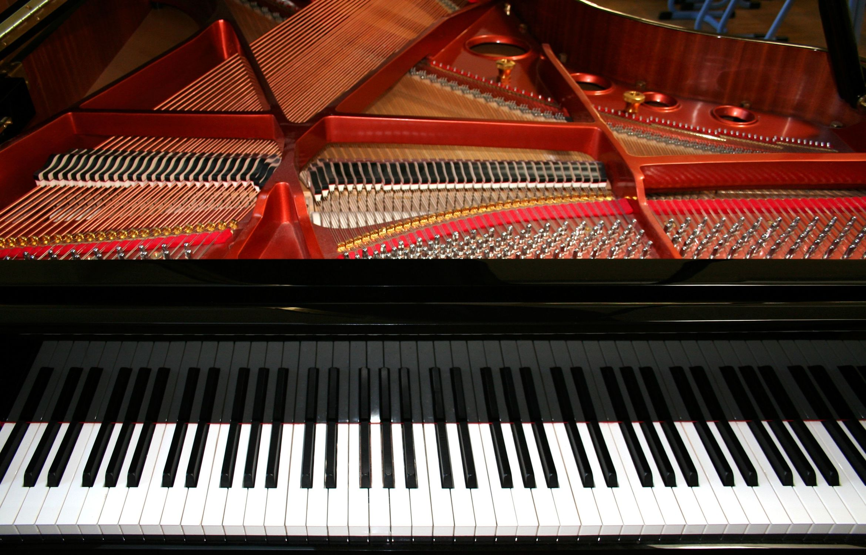 Bild mit Musikinstrumente, Flügel, Klavier, Klavierflügel, Tasteninstrument, Instrument, Musikinstrument, Piano