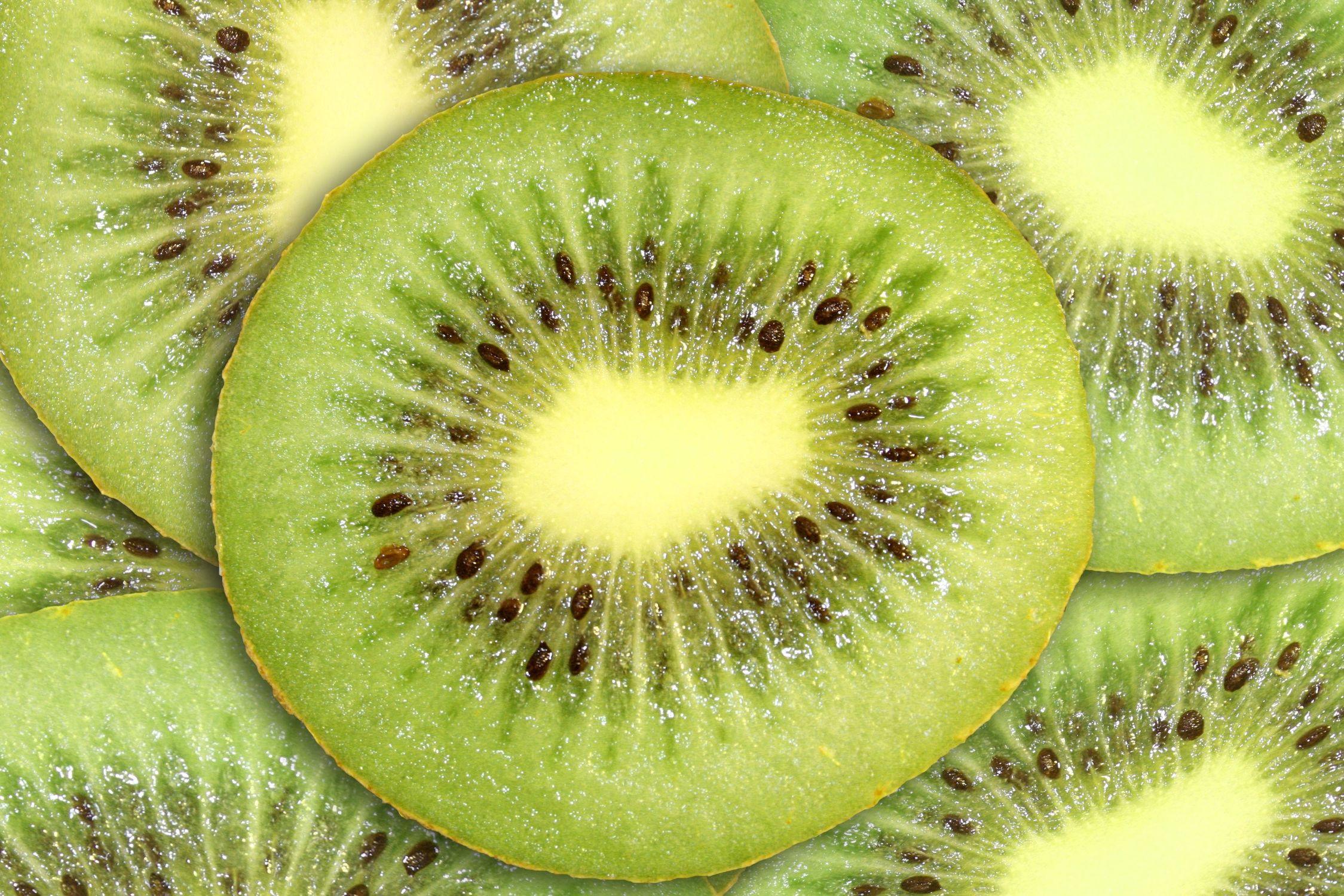 Bild mit Grün, Früchte, Lebensmittel, Essen, Frucht, Kiwi, Kiwies, Kiwifrucht, Obst, Küchenbild, Küchenbilder, KITCHEN, Küche