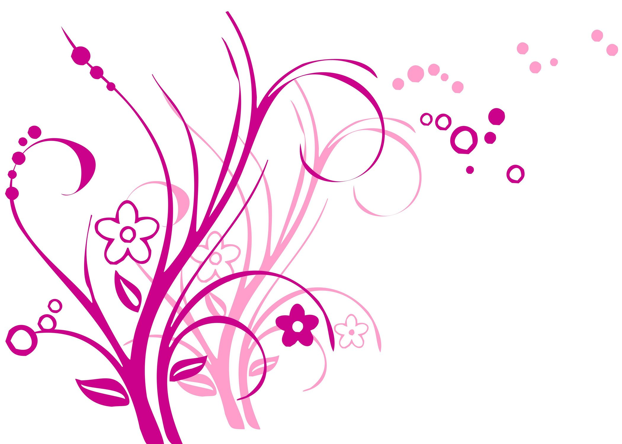 Bild mit Farben, Gegenstände, Schriftstücke, Schriften, Kunst, Natur, Pflanzen, Rosa, Magenta, Illustration, Abstrakte Kunst, Abstrakte Malerei