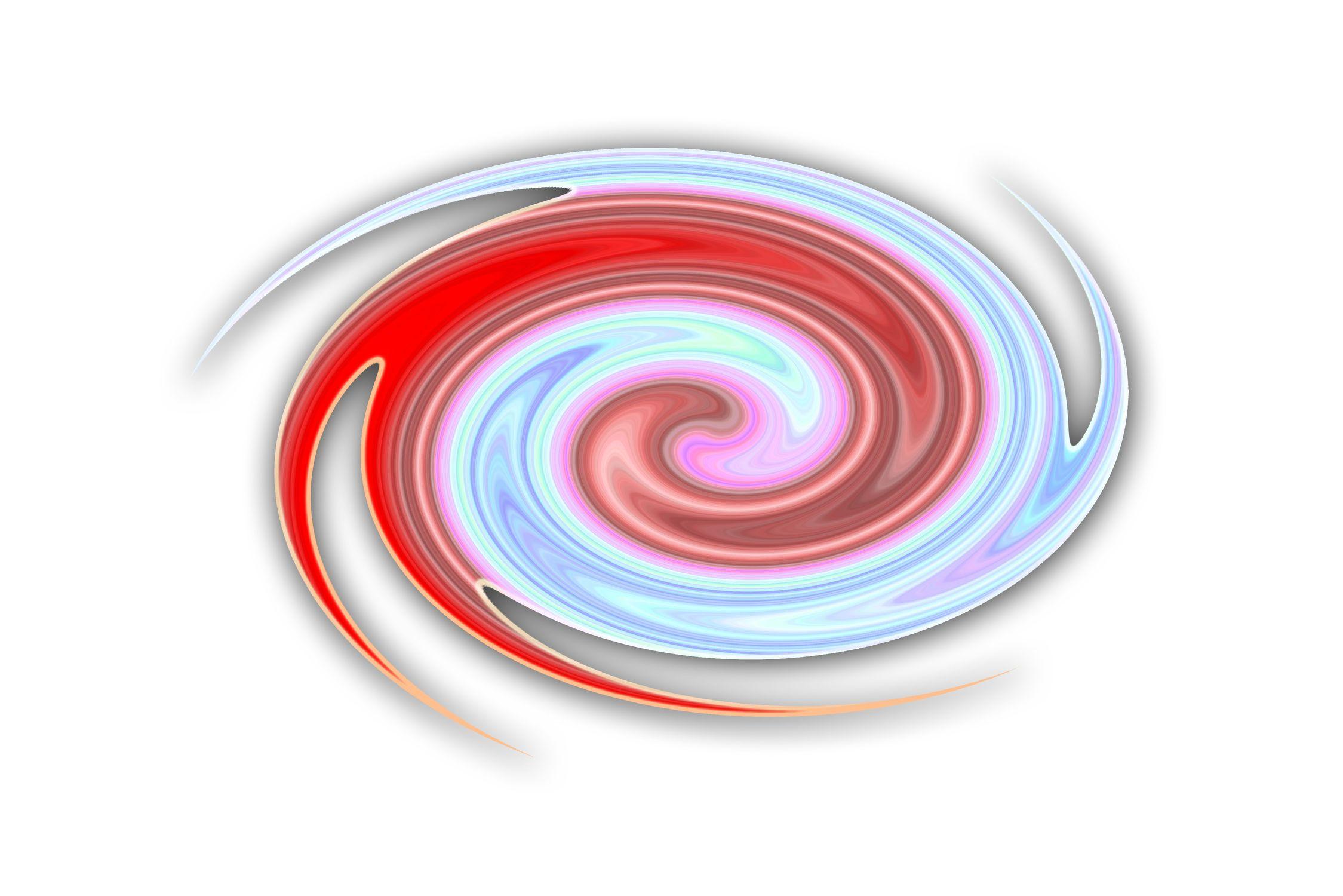 Bild mit Gegenstände, Kunst, Figuren und Formen, Spiralen, Illustration, Abstrakt, Abstrakte Kunst, Abstrakte Malerei, Kunstwerk, Spirale