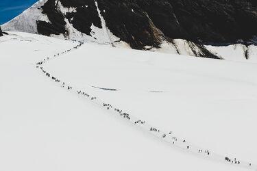 Schweizer Berge im Winter