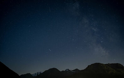 Sternenhimmel im Engadin