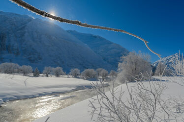 Bild mit Winterlandschaften, Landschaften im Winter, Winterimpressionen, Winterbilder