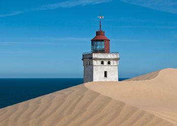Bild mit Strand, Sandstrand, Meer, See, Wüste, turm, Leuchtturm, ozean
