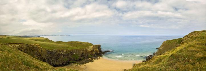 Bild mit Natur, Wasser, Berge, Gewässer, Felsen, Sonnenuntergang, Sonnenaufgang, Strand, Sandstrand, Panorama, Nature, Küste, Am Meer, ozean