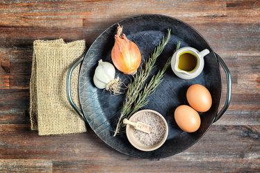 Bild mit Lebensmittel, Essen, Food, Küchenbilder, KITCHEN, wandtapete, Küche, Küchen, Pfanne