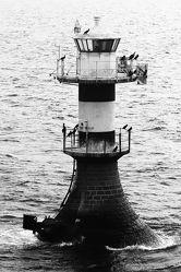 Bild mit Kunst, Architektur, Fotografie, schwarz weiß, Leuchtturm, SW