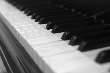 Klavier Tasten