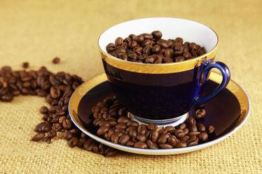 Bild mit Küchenbild, Küchenbilder, KITCHEN, kaffee, kaffeebohnen, kaffeetasse, Küche, Esszimmer, und Küchenbilder, Tasse