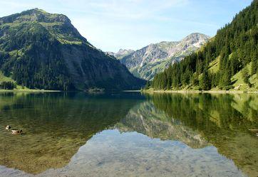 Klarer Bergsee