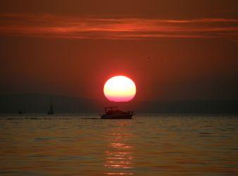 Sonnenuntergang Italien
