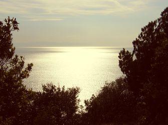 Reflexionen auf dem Meer