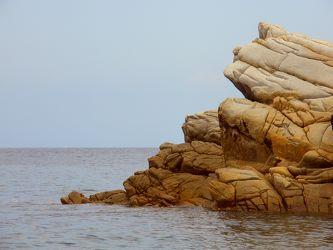 Felsformationen im Meer
