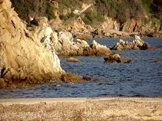 Felsige Küste
