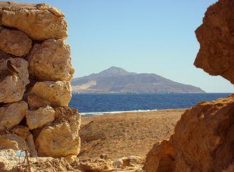 Durchblick zum Roten Meer
