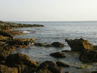 Felsen im Meer