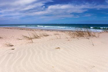 Strandidylle am Atlantik