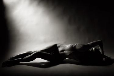 Erotische Pose Akt
