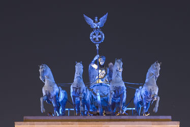 Brandenburger Tor Berlin Quadriga