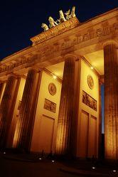 Brandenburgertor Berlin Abendlicht 2
