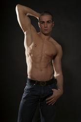 Muskelspiele Männerakt