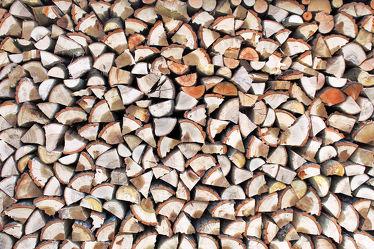 Bild mit Holz, Struktur, Jahresringe, Holzstruktur, Holzwand, rustikal, brennholz, feuerholz, Holzstapel, scheitholz, kaminholz