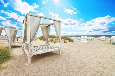 Wellnessbereich im Strandurlaub