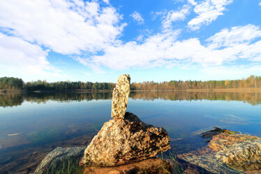 Steine am Inselsee