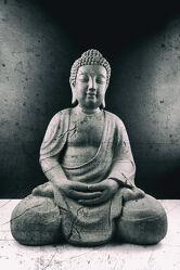 Bild mit Meditation, Ruhe, Entspannung, Buddha, Wellness, Spa, Buddhismus, Yoga, Religion, Glauben, zen, Ausgeglichenheit