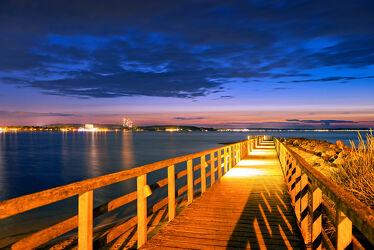Timmendorfer Strand Sonnenuntergang