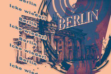 Berlin Brandenburger Tor Panorama Leinwand 26