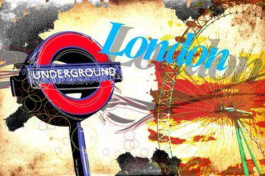 London Panorama Pop art  012