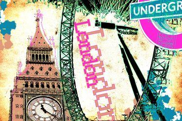 London Panorama Pop art  013