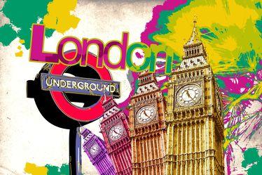 London Panorama Pop art  014