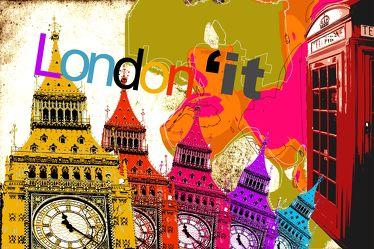 London Panorama Pop art  015