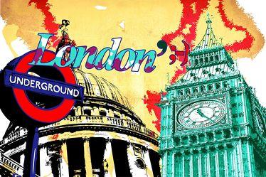 London Panorama Pop art  016