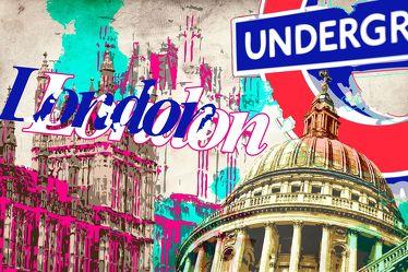 London Panorama Pop art  017